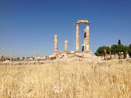 This architecture isn't from the Biblical era, but it's one of my favorite photos from Amman