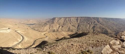 The Arnon canyon
