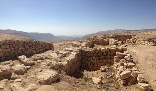 The ruins at Bozrah