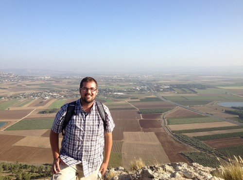 On the edge of the Nazareth Ridge